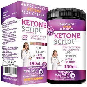 Nurse Hatty Ketone Test Strips